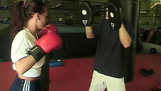 Hot Dale Dabone fucks in gym with his white sport socks on