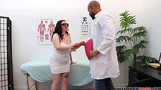 Doctor Loves Milly Marks Big Ass And Natural Big Boobs