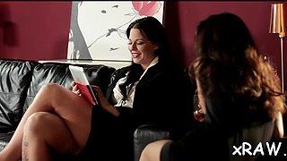 lesbians in glamour oral xxx segment