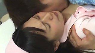 Fabulous Japanese whore Kana Nishikawa, Yayoi Yanagida, Ryo Takamiya in Horny JAV clip