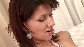 slutty redhead rides a big black dick