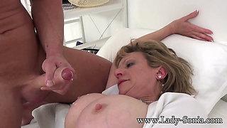 Busty Milf Nurse Barebacked Hard