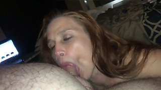 Vaca Mature returns! HUGE Cumshot