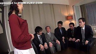 Crazy Japanese girl Marina Matsumoto in Amazing JAV uncensored Blowjob movie