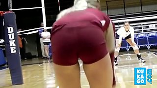 fabulous camel toes for a volleyball team