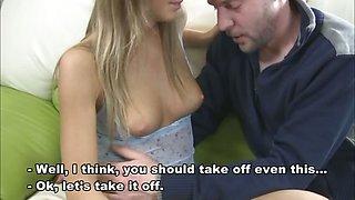 Natasha loses virginity before camera - part 1