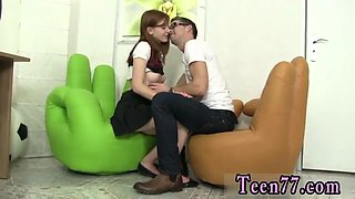 Gorgeous teen homemade and midget hardcore Redhead Linda torn up by dude