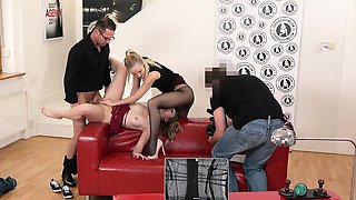 EXPOSED CASTING - Czech blonde gets fucked in hot audition