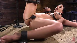 rough bdsm punishment for the busty milf