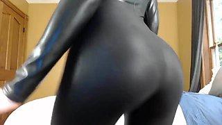 Shiny Catsuit JOI CEI