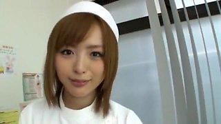Fabulous Japanese slut Yu Namiki in Best Stockings, Nurse JAV video