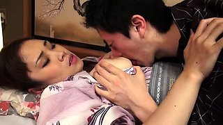 Stacked Asian housewife satisfies her wild desire for cock