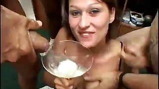 Sperm cocktail gallery with videos