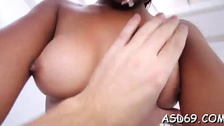 Getting a big cock in ass