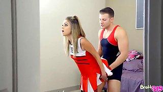 Step sister is a cheerleader