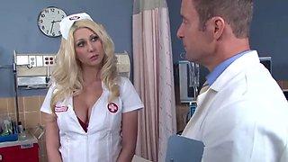 Blonde nurse
