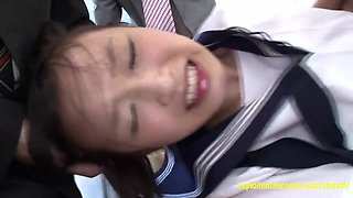 Makoto Takeuchi Fucked By Her Teachers Held Down They Fuck Her Hard Old Young Perverted Scene