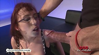 Horny pornstar in Exotic German, Bukkake xxx scene