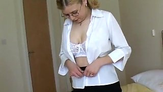 Exotic Amateur video with Big Tits, Casting scenes