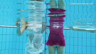 Amazing erotic underwater video with hot and sexy teens