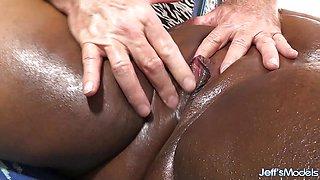 Sweet Massage for Black BBW Olivia Leigh