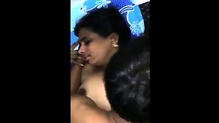 Indian Aunty Threesome Sex