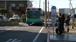 XV-940 Nana Ogura Bus Molester 1
