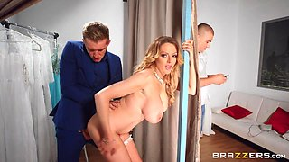 Valentines Day Affair: Unseen Moments Free Video With Bunny Colby - BRAZZERS