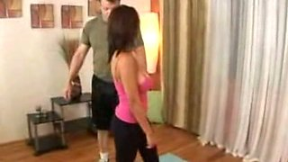 A yoga teacher seduces her student
