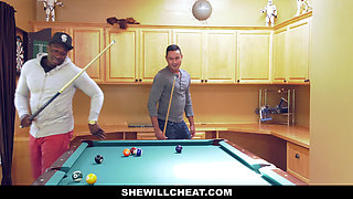 SheWillCheat - Horny Wife Caught Riding BBC