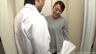 Asian cutie Kurino Youko turns out to be quite a naughty nurse