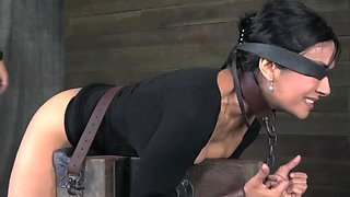 Beretta James gets 10 inches of BBC and Brutal Bondage Fucking