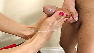 Alexis Fawx Magical Feet Action. Part 3