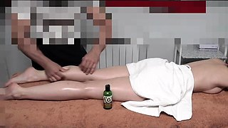 Erotic Massage Room with Jeny Smith. Hidden cam