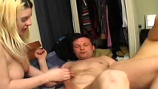 Two amateur chubby swinging wives