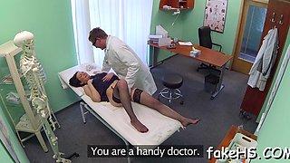 stunning sex inside the fake hospital clip