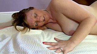 Mature milf with nice body and tits gets fucked well by BBC