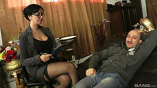 Asia Morante is a chick with an amazing body in need of an anal shag