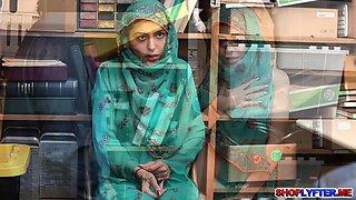 Muslim thief Audrey Royal gets a punishment
