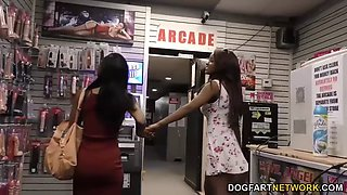 Jezabel Vessir and Sarah Banks  Gloryhole Initiat
