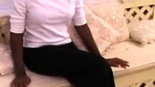 Black retro amateur assfucked by oldman