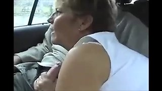 Fucked by my son in dad&#39 s car