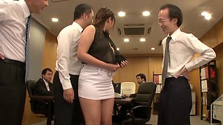 Exotic Japanese whore in Horny MILF, Office JAV clip