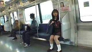 Mikan Lovely Asian schoolgirl part6