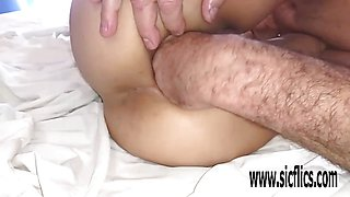 Kinky Double anal fisting and extreme insertions