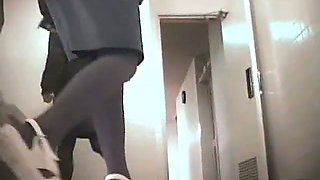 Exciting toilet spy cam shots of amateur bushy slits