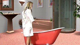 Axelle Parker Bath Time From Virtuagirl