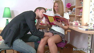 Step-sister get hard anal fucked by german NOT Step-brother