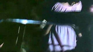 Incredible homemade Gangbang, Outdoor adult scene