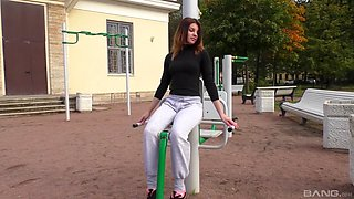 Veronica Bellucci and Nimfa hook up for a girl on girl action